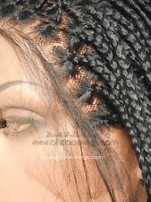 Jamaica Long Fully Hand Micro Braided Lace Front Wig Poetic Justice Box Braids