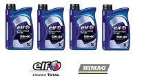 4 Litri Olio Motore ELF 900 NF 5W40 ACEA A3/B4 VW 502.00-VW505.00 229.3