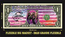 STEEL PANTHER IMAN BILLETE 1 DOLLAR BILL MAGNET