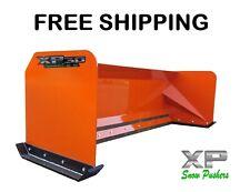 7 Xp30 Kubota Orange Snow Pusher Skid Steer Loader Free Shipping