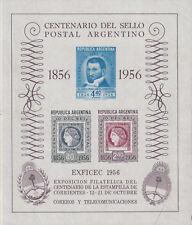 Argentinien Briefmarken 1956 100 Jahre Briefmarke Mi  Block 11 **postfrisch