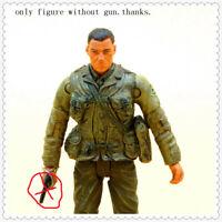 "BBI Elite Force Unimax  1/18 WWII US Army Ranger soldierv figure without gun 4"""