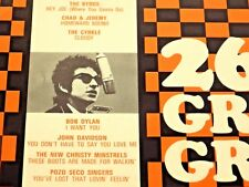 Various - 26 Groovy Greats by 26 Great Stars -1966 Limited Ed - Volume 1 & 2 NM