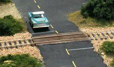 Woodland Scenics C1147 Wooden Grade/Road Crossing x 2 SETS - Model Train HO