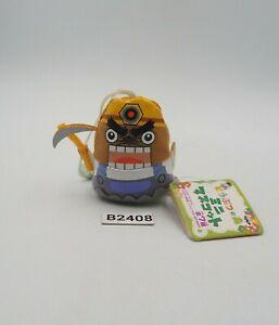 "Animal Crossing B2408 Mole Strap Mascot 2"" Banpresto 2007 Plush Toy Doll Japan"