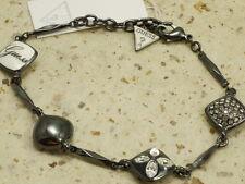 Guess, Armband, UBB 91003, 21 cm, geschwärzt