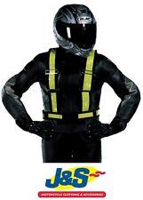 Oxford Products Reflective H-Belt Hi-Viz Yellow Motorcycle Motorbike One size
