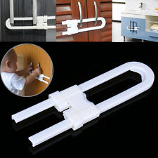 Child Infant Baby Kids Safety Drawer Door Cabinet Cupboard U Shape Security Lock