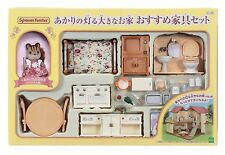Sylvanian Families Room set bright big house furniture Doll Accessory F/S Japan