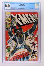 X-Men #56 - Marvel 1969 CGC 8.0 1st Appearance of the Living Monolith. Origin of