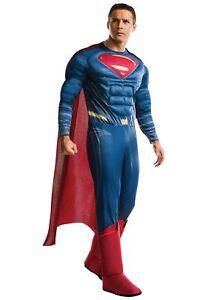 Justice League Adult Deluxe Superman Costume