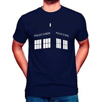 Inspired Doctor Who Police Box Who T-Shirt Dr Who Unisex T Shirt Top Triangle
