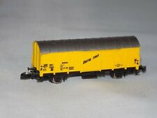 Z Scale Marklin mini club 8606 Bananen Yellow Refrigerated Box Car