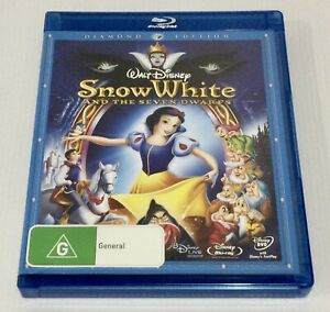Snow White And The Seven Dwarfs Blu-ray 3 Disc Set Includes DVD Version Disney