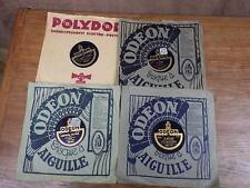 4x DISQUE 78 RPM BACH & HENRY LAVERNE Odeon VOIR DETAIL ANNONCE