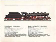 VINTAGE RAILWAY GERMAN TRAIN ENGINES PRINT ~ 41 EINHEITSLOKOMOTIVE