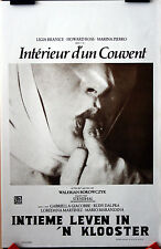 Walerian Borowczyk : Within A Convent : POSTER