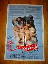Woman In Love ORG 1979 One Sheet Movie Poster Sexploitation XXX Vanessa Del Rio