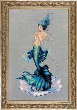 "SALE! COMPLETE XSTITCH KIT ""Aphrodite Mermaid MD144"" by Mirabilia"