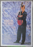 BRING ON THE NIGHT  MOVIE POSTER STING Reprint 1990's The Police 26x38 Inches