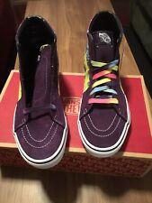 Vans SK8 Hi Tie Dye Mysterioso Purple Men's Size 9.5 New 11 Women's