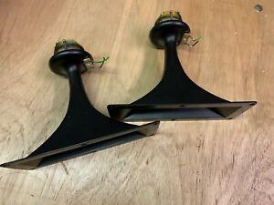 Pair 80s vintage alloy horn aluminium tweeters, Japan, EAGLE FOSTEX maybe ?