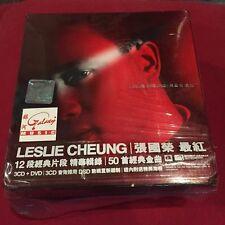 张国荣 張國榮 Leslie cheung 最红 3cd 马来西亚 首版  w/obi