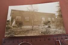 tolles altes Foto - Haus mit Personen - Süderbrarup - 1908
