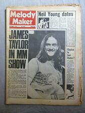 MELODY MAKER 1st September 1973 ~ James Taylor ~ Jeff Beck ~ Reading Festival!