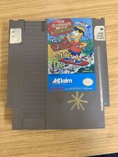 THE SIMPSONS: BART VS. THE SPACE MUTANTS (1991) nes nintendo us NTSC USA IMPORT