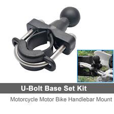 "For RAM U-Bolt Motorcycle Handlebar Mount Base 1"" Ball for garmin Zumo 500 550"