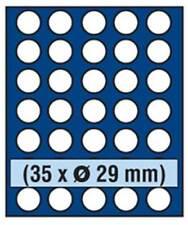 SAFE 6829 NOVA Element exquisite Holz-Münzbox für 35 Münzen mit 29 mm Durchmesse