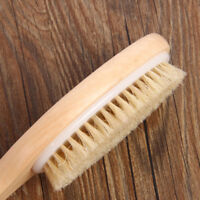 Full Body Natural Bristle Dry Skin Exfoliation Brush / Detox - Fight Cellulite