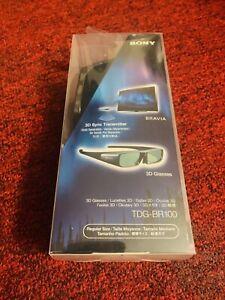 Sony TDG-BR100 Regular Size 3D Glasses Brand New . Authentic.
