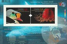 Canada 2007 - 2008 Souvenir Sheet - International Polar Year