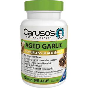Carusos Natural Health Aged Black Garlic