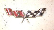 1978-79 Chevrolet Corvette Gas Door Emblem - GM # 471295 Rare Auto Mopar