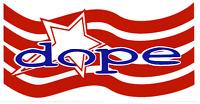24010 Dope American Flag Logo Hard Rock Heavy Metal Huge Large Sticker / Decal