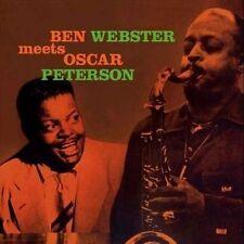 NEW Ben Webster Meets Oscar Peterson [Vinyl LP]