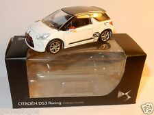 NOREV 3 INCHES 1/54 CITROEN DS3 RACING 2013 BICOLORE GRIS BLANCHE IN BOX