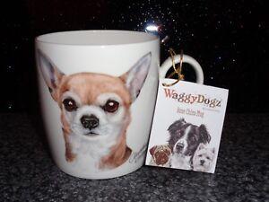 Waggy Dogz Fine Bone China Mug CHIHUAHUA