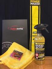 Power Maxed Summer Jacket 500ml + Free Micro fibre,Shampoo & Ultra Wax