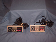 Nintendo NES Controller Original OEM Lot Of 2 NES-004 Guaranteed SEE DESCRIPTION