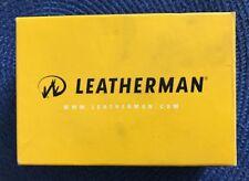 NEW Leatherman Wave Black! Multitools with Nylon Sheath In Box
