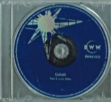 Paul & Leslie Miller - Goliath: Bill Britt Story, BWW (A Motivational CD, 2007)