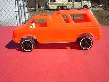 """Vintage 1970's Gay Toys Plastic Custom Van # 537 7"""" long"""