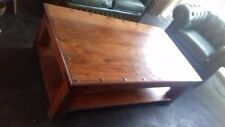 Indian sheesham Jali style solid wood coffee table
