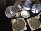 8 Cuisinart Food Processor Blades Discs photo