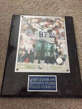 La'Roi Glover Signed 8x10 Photo Plague Dallas Cowboys Autograph Auto