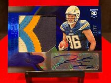 Hunter Henry SP RC Patch Auto (RPA) ~ 2016 Panini Certified Blue #/50 Sick!